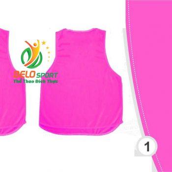 Áo lưới team building, áo tập bóng đá cao cấp màu hồng