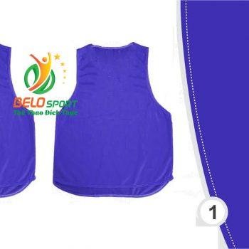 Áo lưới team building, áo tập bóng đá cao cấp màu xanh biển đậm